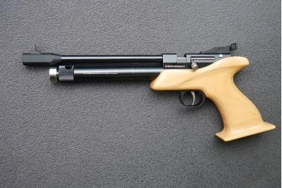 Пистолет PCP Strike One B019 7, 5Дж (тюнинг Нева-Таргет)