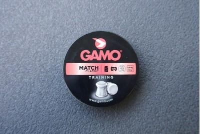 Пули для пневматики GAMO Match 4, 5мм 0, 49гр (500 шт)
