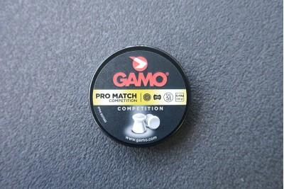 Пули для пневматики GAMO Pro Match 4, 5мм 0, 49гр (250 шт)