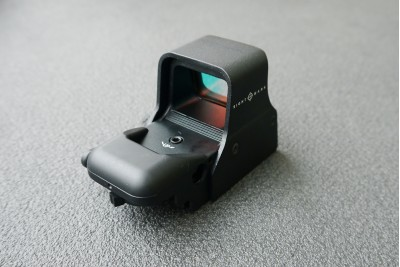 Коллиматор Sightmark панорамный, 4 приц.марки, 3 режима яркости +2 NV режима, цвет - красный, быстросъемн. Weaver