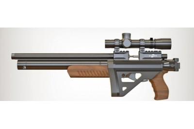 Пневматическая винтовка PCP ATAMAN M2R Ultra-C (Орех) кал. 5, 5мм (715/RB)