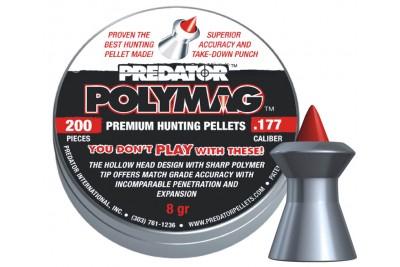 Пули для пневматики JSB Predator Polymag 4, 5мм 0, 52г (200шт)