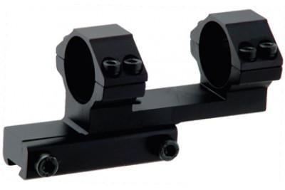 Кронштейн Leapers с кольцами 25, 4мм на призму  со смещением 38мм (RGPMOFS38-25H)