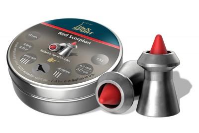 Пули для пневматики H&N Red Scorpion 4, 5мм 0, 54гр. (225 шт)