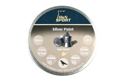 Пули для пневматики H&N Silver Point 5, 5мм 1, 11гр. (200шт)