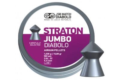 Пули для пневматики JSB Straton Jumbo Diabolo 5, 5 мм 1, 03г (500 шт)