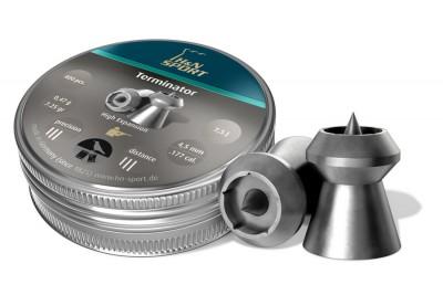 Пули для пневматики H&N Terminator 4, 5мм 0, 47гр. (400 шт)