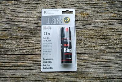 Баллончик аэрозольный Black OC+CS (75мл)