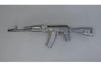 Оружие списанное учебное ММГ АК-74М УС складной приклад