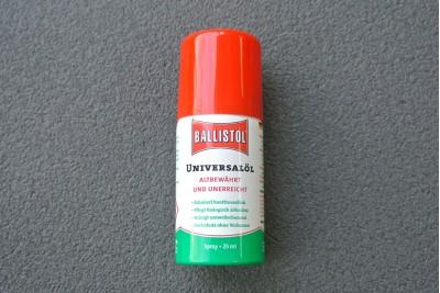 Масло оружейное Ballistol spray 25ml