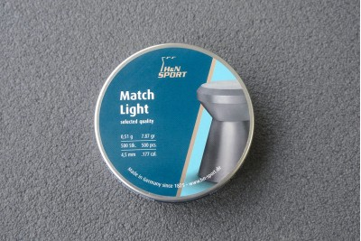 Пули для пневматики H&N Match Light 4, 5 мм 0, 51г (500шт)