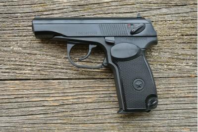 Пистолет пневматический Макаров МР-658К (в кейсе)