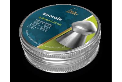 Пули для пневматики H&N Baracuda 6, 35мм 2, 00г (150 шт)