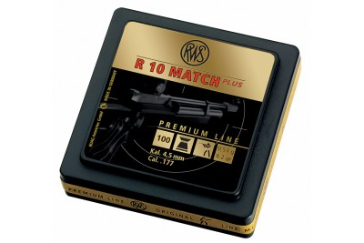 Пули для пневматики RWS R10 MATCH Plus, 4, 5мм 0, 53 гр (100шт)