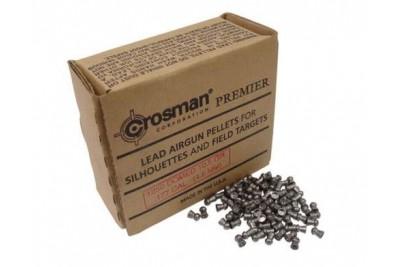 Пули для  пневматики  Crosman Domed, 4, 5 мм 0, 68г ( 1250 шт)
