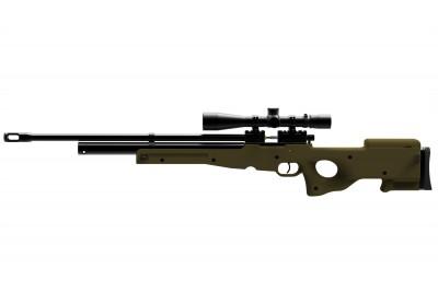 Пневматическая винтовка PCP ATAMAN M2R тактическая ТИП 2 (Olive) кал. 6, 35мм (336/RB)