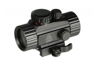 Прицел коллиматорный Leapers UTG New Gen 1x30 закрытый на Weaver, подсветка круг с точкой (SCP-RG40CDQ)