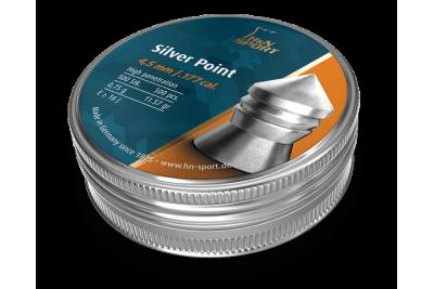 Пули для пневматики H&N Silver Point 4, 5мм 0, 75гр. (500шт)
