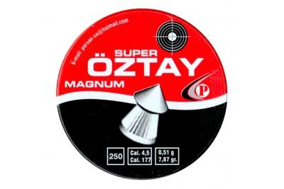 Пули для пневматики Oztay Super Magnum 250шт