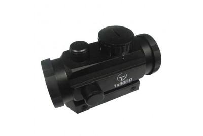 коллиматор Target Optic 1х30 закрытого типа на Weaver, подсветка точка 50 шт./кор.