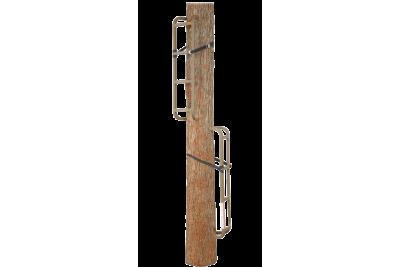 Лестница складная, приставная к дереву