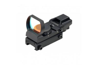 Коллиматор Target Optic 1х33 открытого типа на Weaver, сменные марки
