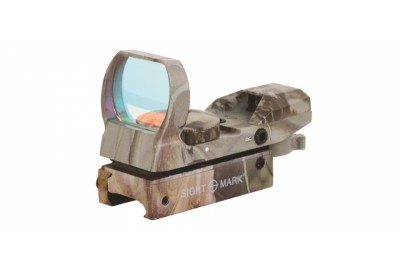 коллиматор Sightmark панорамный, 4 марки, крепление на планку 11 мм (ласточкин хвост), камуфляжный