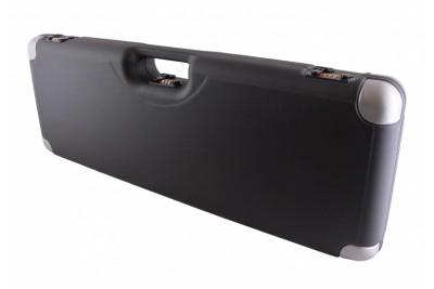 кейс Negrini для гладкоствольного оружия зеленый, люкс, отделка углов, пластик ABS, с отделениями, в