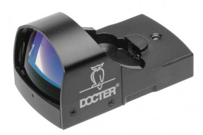 коллиматорный прицел DOCTERsight II plus паралакс 40м, точка 3, 5MOA, 25гр., цвет - черный + защитн.крышка