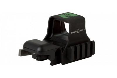 коллиматор Sightmark, зеленая марка, 5 ур. яркости, быстросъемн. Weaver