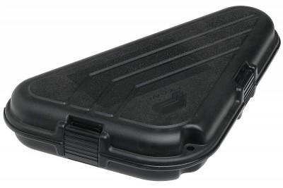 Кейс Plano для пистолета, пластик ABS, поролон, внутр.размер 27х5х12, 7(см.), черный, вес 213гр