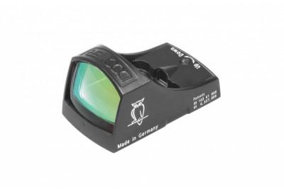коллиматорный прицел DOCTERsight C, паралакс 40м, точка 3, 5MOA, 25гр., цвет - черный графит + 2 защитн.крышки