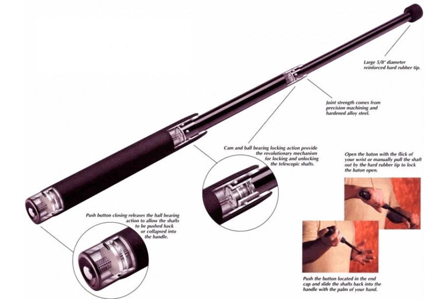 Как сделать телескопическую дубинку